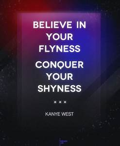 - Kanye West - #quote #believe #conquer | Words Of Wisdom ...