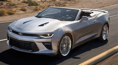 2018 Chevy Camaro Convertible Launched Automotorblog