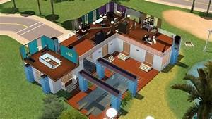 plan de maison moderne avec piscine interieure With superior plan de maisons gratuit 5 maison contemporaine avec piscine interieure apla