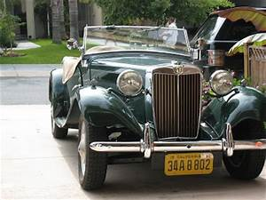 CLASSIC CARS OF LOS ANGELES: 1950 MG - Happy Fathers' Day!