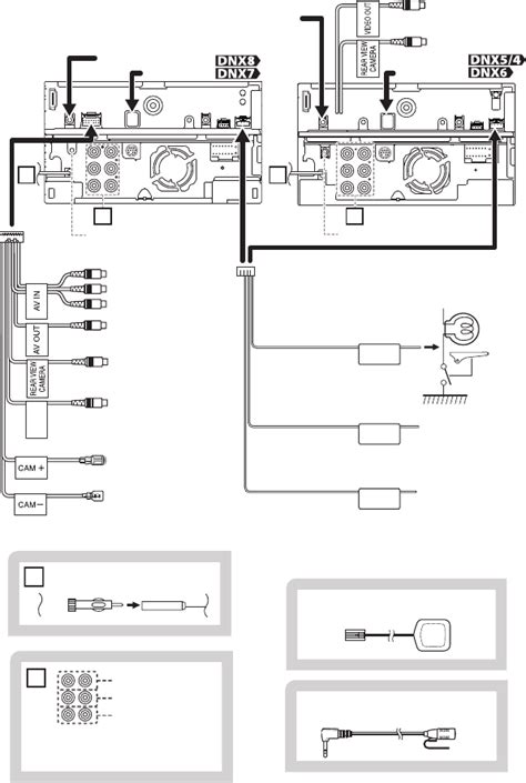 Kenwood Dnx Wire Diagram by Page 22 Of Pc Richard Kenwood Gps Receiver Dnx572bh User