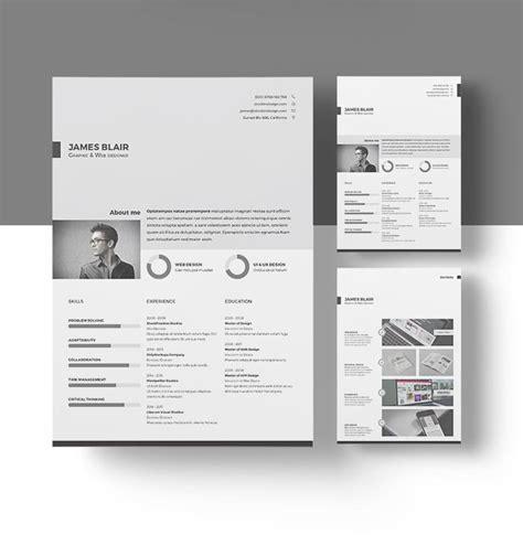 indesign template layout resume copywriterbranding x fc2