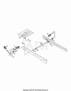 Troy Bilt 13aaa1kt066 Tb2246  2015  Parts Diagram For Pedals
