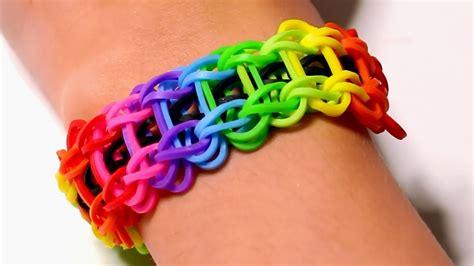 rainbow loom nederlands ladder armband loom bands