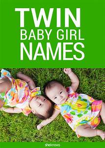 Twin girl names that do double duty for your duo