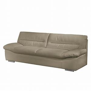 Sofa 3 Sitzer Günstig : sofa doug 3 sitzer echtleder hellgrau cotta sofas g nstig kaufen ~ Bigdaddyawards.com Haus und Dekorationen