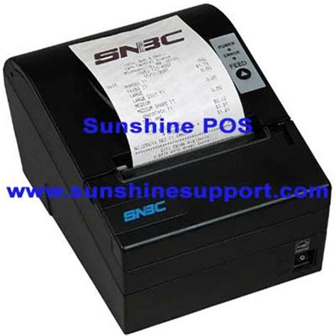 Snbc Btpr880np Printer Black Thermal Usb Serial