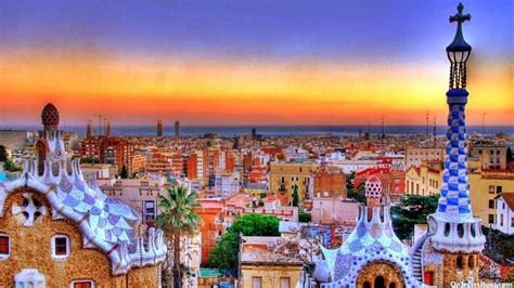 Barcelona Spain One Of The Most Visited Places In The