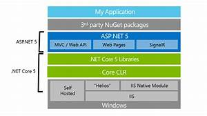 What Is  Net Core 5 And Asp Net 5 Within  Net 2015 Preview