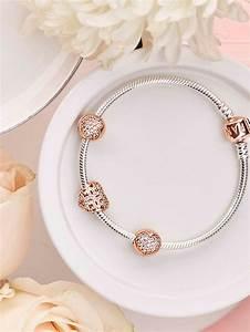 bracelet pandora rose gold With déco chambre bébé pas cher avec pandora charm fleur