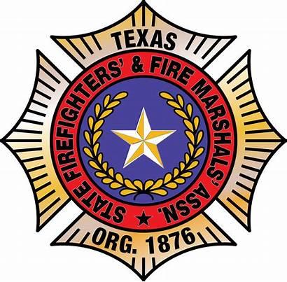 Fire Texas State Association Firefighters Fireman Firefighter
