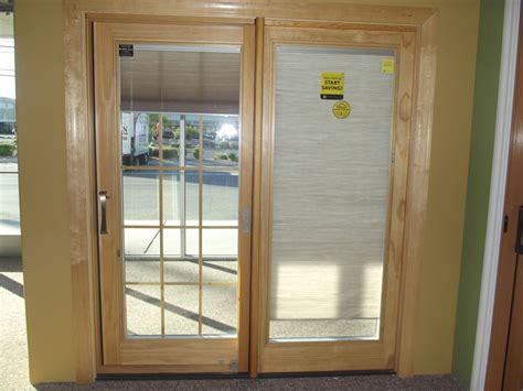best pella doors with blinds with pella patio doors with
