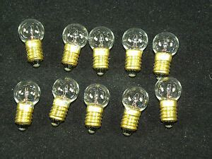 philips led lighted train engine lionel trains light bulbs 432 base 18 volt clear