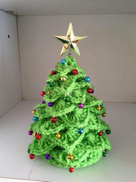 crocheted christmas tree crochet for x mas pinterest