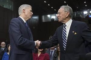 Senate hearings get underway on Trump Supreme Court pick ...