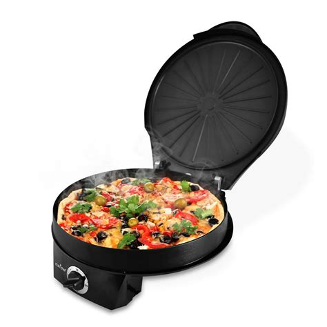 nutrichef pkpzm electric pizza maker pizza oven