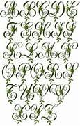Jacobean Forest Initials Machine Embroidery Font 4 X4 EBay Magic Forest Font Letter F Magic Forest Font Letter J Rainforest Typeface HypeForType Fonts Flickr Photo
