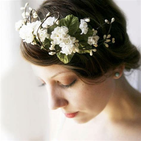 Beautiful & Boho Bridal Flower Crowns : Chic Vintage Brides