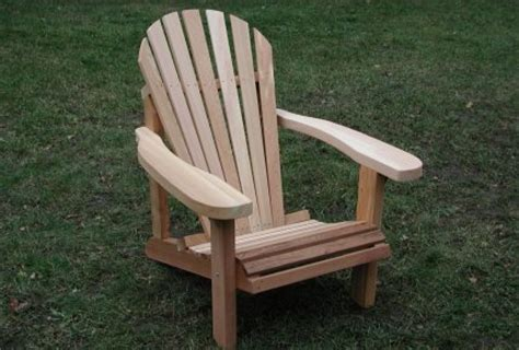 fabriquer chaise complete plan pour fabriquer une chaise adirondack