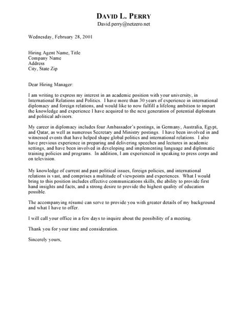 writing  academic cover letter  support