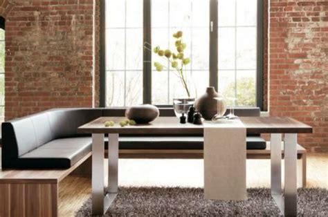 tavoli da pranzo moderni eleganti  panche immagini