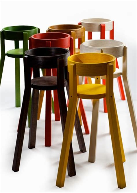 Chaise Haute New Baby by Colorful Wooden Highchairs Designeveryday Style