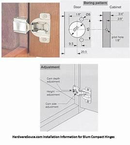 Compact 38n Small Overlay Hinges