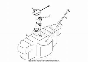 Troy Bilt 17afcacp011 Mustang 50 Xp  2013  Parts Diagram For Fuel Tank