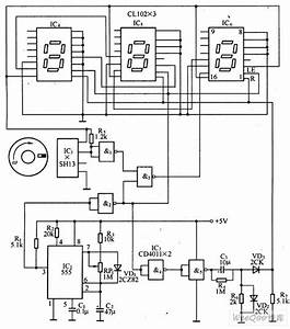 Digital Tachometer Circuit Based On The Magnetic Sensor