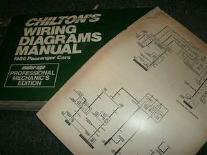 1986 Oldsmobile Cutlass Supreme Wiring Diagrams Manual