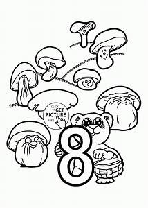 Coloring Pages For Number 8: Number coloring page ...