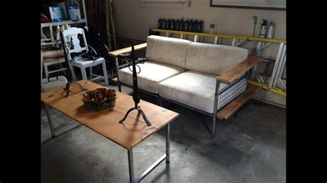 dale weller metal sofa construction time lapse youtube