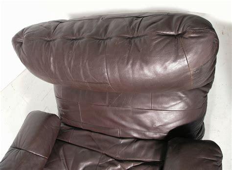 ligne roset marsala chair in original leather designed by