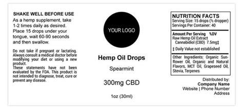 private label design process  hemp wholesale