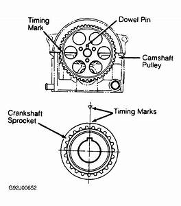 1992 Isuzu Impulse Timing Chain Diagram