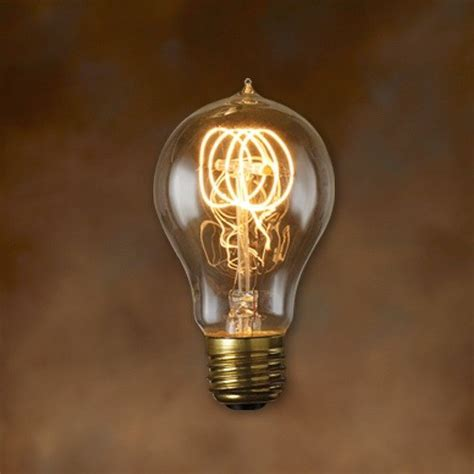 antique light bulbs bulbrite 132520 25w nostalgic edison loop style bulb