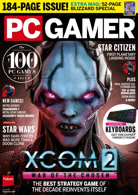 pc gamer magazine the best computer gaming experience discountmags
