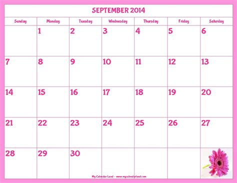 blank activity calendar template images printable
