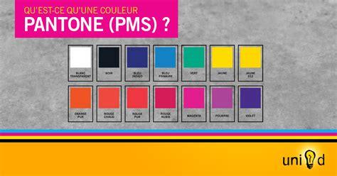 Qu'est-ce Qu'une Couleur Pantone (pms)?