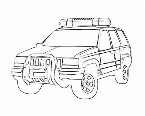 police car coloring pages coloringsuitecom