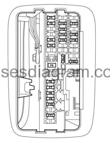 fuses  relays box diagram dodge durango