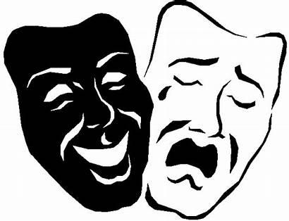 Drama Mask Masks Masken Theater Clipart Transparent