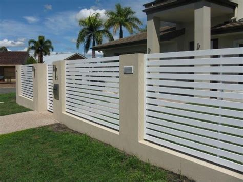 modern design fence modern fence designs metal with concrete walls google search metal fence gates pinterest