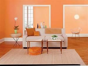 Farben Fürs Wohnzimmer Wände : w nde streichen farbideen f r orange wandgestaltung ~ Bigdaddyawards.com Haus und Dekorationen