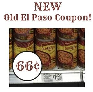 74658 El Paso Refried Beans Coupon by New El Paso Refried Beans Coupon To Go With Our Publix