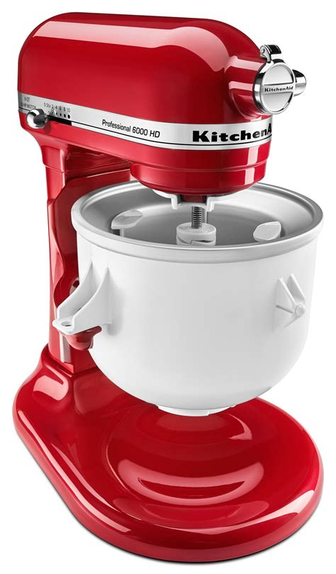 kitchenaid ice cream mixer maker attachment stand qt frozen yogurt
