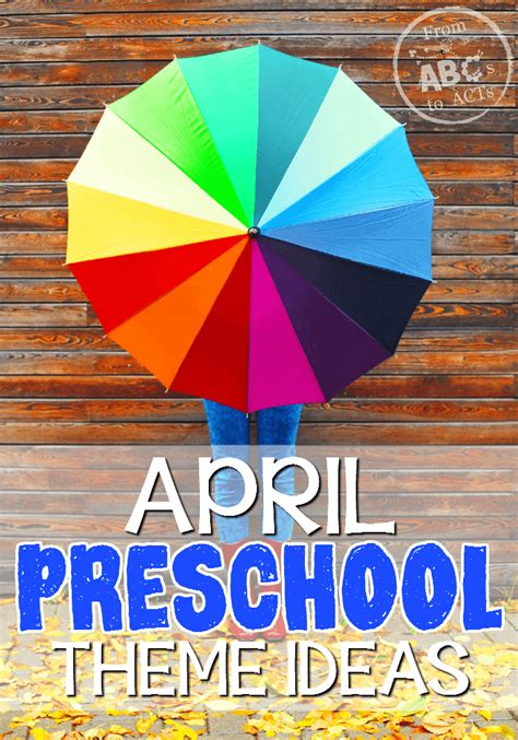 april preschool themes from abcs to acts 987 | April Preschool Themes on From ABCs to ACTs