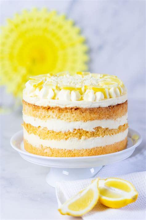 zitronencreme torte mit lemon curd recipe torten und