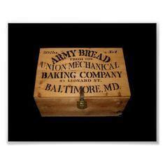 build  ammunition  bread box civil war