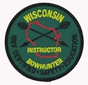 WISCONSIN BOWHUNTER INSTRUCTOR PATCH | The Emblem Authority
